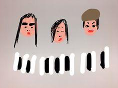 ☆東京・キネマ倶楽部にて渡辺シュンスケさんのライヴへタイナカ彩っちゃんと行ってきました〜〜。期待以上の素敵な時間。。本当に楽しそうにピアノを弾くシュンスケさんにこちらまで嬉しくなりました。大好きな曲も聴けてなんて幸せな夜…。写真撮り忘れたので絵で失礼いたします。