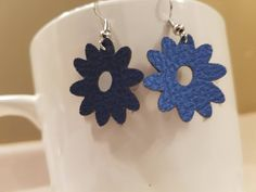 Excited to share the latest addition to my #etsy shop: Blue, Green, Flower Earrings, Faux Leather, Spring Time, Mothers Day Gift Idea, Easter, Summer, Lightweight, Flower Leather Earrings, #jewelry #earrings #anniversary #boho #earwire #fauxleather #girls #plantstrees #easter #flowers #flower #bluefauxleather #greenfauxleather #mothersday #summertime #funearrings #lightweight #giftsforher http://etsy.me/2CzfthR