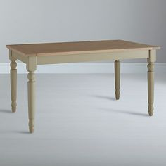 Buy Neptune Suffolk 6 Seater Seasoned Oak Dining Table Honed Slate Online At Johnlewis