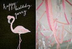 Flamingo 1st birthday party for Penny   Sherri Koop Photography   100 Layer Cakelet