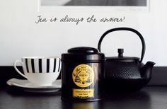Mariage Tea from Paris. Brunch Cafe, Drinking Tea, Tea Time, Nom Nom, Tea Pots, Goodies, Food And Drink, Mugs, Tableware