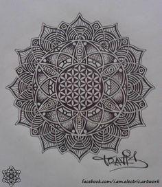 Mandala Designs, ghost-host: (via i am electric's Photos)