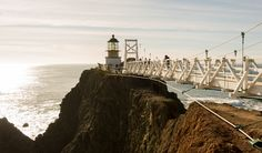 Point Bonita Lighthouse is a lighthouse located at Point Bonita at the San Francisco Bay entrance in the Marin Headlands near Sausalito, California.
