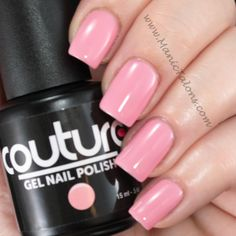"Couture Gel Nail Polish ""Sweet Cheeks""."