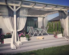 Rano kupiłam wrzosy a tu lato wróciło 😄 Hip hip hurrraaaaaaaa… Outdoor Decor, Garden Design, Outdoor Living, Backyard Decor, Pergola Designs