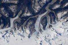 #Patagonia glaciers in southern #Chile. @Space_Station #Explore      I  Tim Kopra (@astro_tim) | Twitter