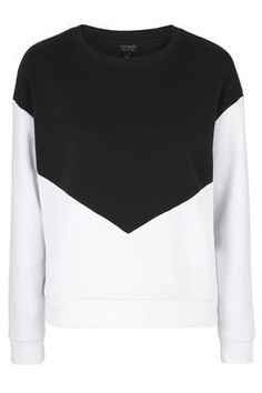 PETITE Colour Block Sweatshirt