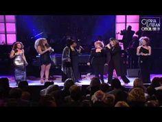 Gloria, Celine, Shania, Mariah, Aretha & Carole - A Natural Woman (Divas Live 1998) - YouTube