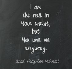You Love Me Anyway