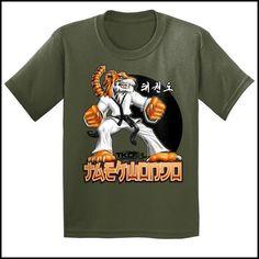 TIGER FISTS! -Taekwondo T-Shirt -AWESOME GRAPHIC! -YSST-405 - Rhino Junction Apparel - 4