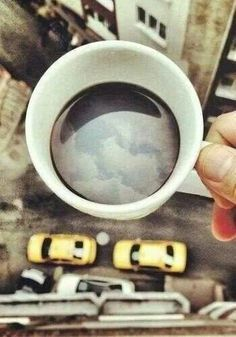 The morning coffee