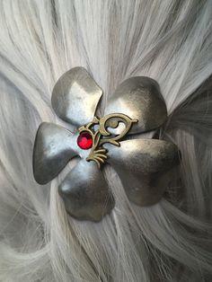 Fairy Hair Accessories or Hair Clips or by ArcanumByAerrowae