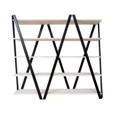Zig-Zag Shelf - Black - by Radis #MONOQI