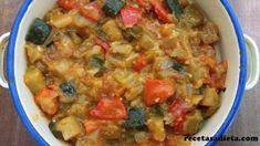 PISTO DE VERDURAS - Recetas a dieta Macaroni And Cheese, Beverages, Chicken, Ethnic Recipes, Fitness, Cooking Recipes, Deserts, Meals, Entrees