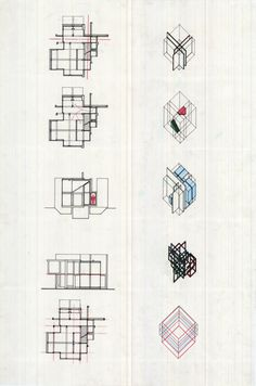 Peter Eisenman's diagram