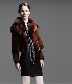 This jacket from @Bergdorf Goodman - I NEED IT. I would like to be buried in Belstaff. Thanks.