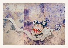 727 Silkscreen Print by Takashi Murakami