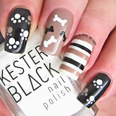 It's all about the polish: Doggie Nail Art