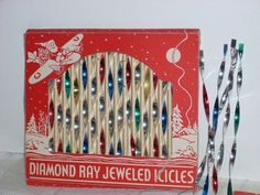 Vintage Diamond Ray Jeweled icicles