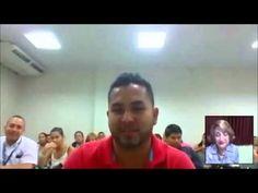 Conversatorio  Rose Marie Tapia los estudiantes de la Universidad del Istmo