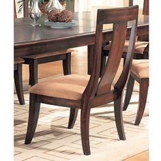 Broadway Dining 7 piece Table Set  Coaster Co. *** Inspect this incredible item by going to the web link at the picture. (This is an affiliate link). Dining Table Legs, Dining Chairs, Cork Coasters, Coaster Furniture, Coaster Set, Side Chairs, Hardwood, Broadway, Table Settings