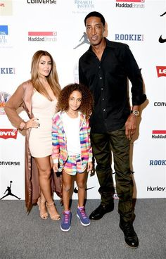 Larsa Pippen, Scottie Pippen, and Sophia Pippen attend Rookie USA Presents Kids Rock! during New York Fashion Week: The Shows September 2016 at The Dock on Sept. 8, 2016