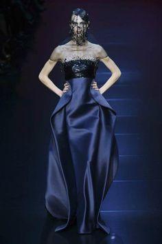 Paris Haute Couture | Armani Privé | Autumn-Winter 2012
