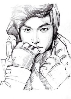 Lee Min Ho. I wish I knew how to draw like this...