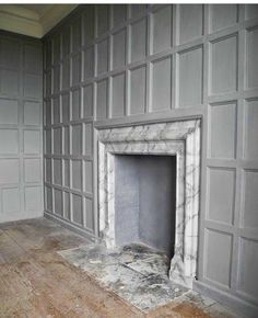 would that be too busy above the fireplace? beautiful millwork and antique fireplace surround Brick Fireplace, Fireplace Surrounds, Fireplace Design, Fireplace Kitchen, Fireplace Cover, Limestone Fireplace, Victorian Fireplace, Fireplace Mirror, Farmhouse Fireplace