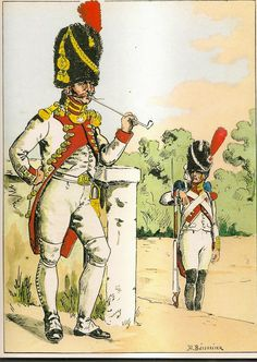 French; Imperial Guard, 3rd(Dutch) Grenadiers a Pied, Officer, Grande Tenue, 1809-10