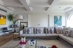 APARTAMENTO CLÁSSICO COM TETO DE GESSO ORIGINAL  #Arquitetura #décor #Decoração #Design