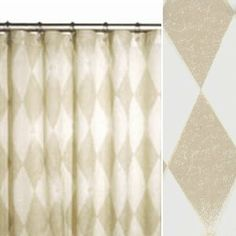 78 Inch Long Shower Curtain Fabric Extra Long Taupe Shower Curtain 72 X 78 Long By Pondlilly
