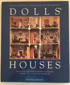 1997 Dolls' Houses Dollhouse Book 1600 Present Pictures Miniatures Architecture