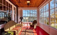 Sunroom, Porch, Home And Family, Windows, Bed, Outdoor Decor, Ceiling, Home Decor, Facebook
