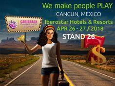 EGT Interactive debutează la Caribbean Gaming Show 2018 în Cancun, Mexic Cancun, Hotels And Resorts, Caribbean, Mexico, Games, People, Gaming, People Illustration, Plays