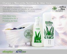 Champú y Mascarilla Nutritiva de La Botiga del Aloe