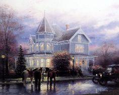 Thomas Kinkade Christmas Memories