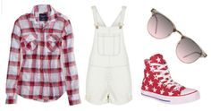 Fierce outfits for the 4th This totally classic, All-American outfit is too perfect for celebrating America's birthday