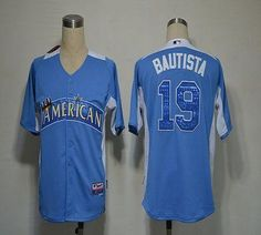 Blue Jays #19 Jose Bautista Blue 2012 All-Star BP Stitched MLB Jersey $19.50