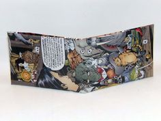 Comic Book Wallet// Fables// Fairy Tale Animals, $4.00
