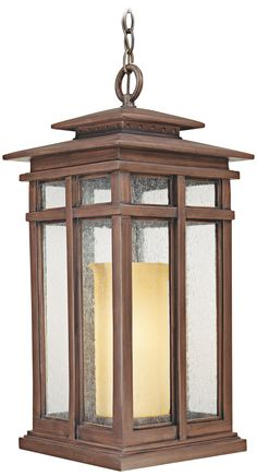 "Cottage Grove Collection 24 1/2"" High Outdoor Hanging Light 