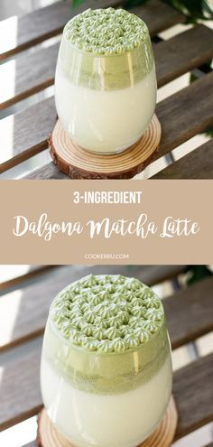 This Dalgona Matcha Latte recipe uses three simple ingredients to make a creamy and comforting drink with an ultra-fluff Tea Recipes, Coffee Recipes, Sweet Recipes, Matcha Latte Recipe, Matcha Drink, Scones Ingredients, Filling Food, Vegan Blueberry, Yummy Food