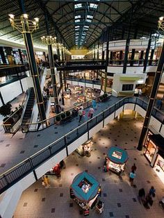 Mall of America -- The US largest mall has more than 500 stores, dozens of restaurants, an indoor amusement park, an aquarium and a butterfly garden.    http://www.midwestliving.com/travel/destination/minnesota/attractions/#page=13