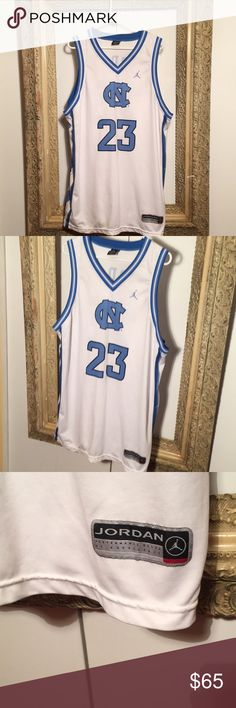 Jordan NC Tar Heels Nike NBA Basketball Jersey Size XL - Condition 9.5/10 - great piece Jordan Shirts