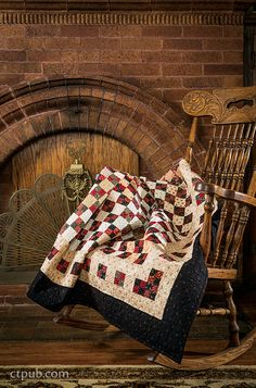 13 Traditional Projects with a Twist by Jill Shaulis and Vicki Olsen of Yellow Creek Quilt Designs