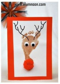 12 Super Cute DIY Christmas Crafts For Kids To Make - ZoomZee - Christmas craf. - Christmas decorations for kids - 12 Super Cute DIY Christmas Crafts For Kids To Make – ZoomZee – Christmas crafts - Kids Crafts, Daycare Crafts, Toddler Crafts, Diy Craft Projects, Preschool Crafts, Preschool Age, Crafts For Babies, Baby Crafts To Make, Infant Crafts