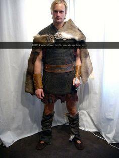 Eric Northman in Viking kilt