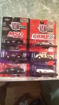 M2 machines set of 6 cars...
