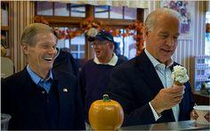 Joe Biden Eats Ice Cream