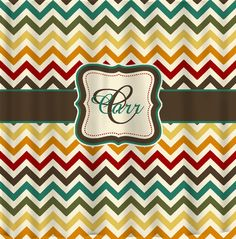 Items similar to Shower Curtain Multi Color Chevron -Any colors of your choice - Personalized Custom - Standard or Extra Long Size Available on Etsy Girl Bathrooms, Apt Ideas, House Ideas, Custom Shower Curtains, Kids Bath, Spring Colors, Custom Homes, Personalized Gifts, Chevron